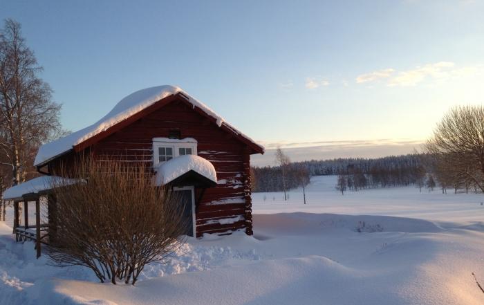 vinter härbret