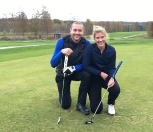 Anders Borg och Maria Swärdsudd